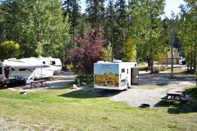 Mit Baby durch Kanada_Campground in Golden_lifeaintoverde