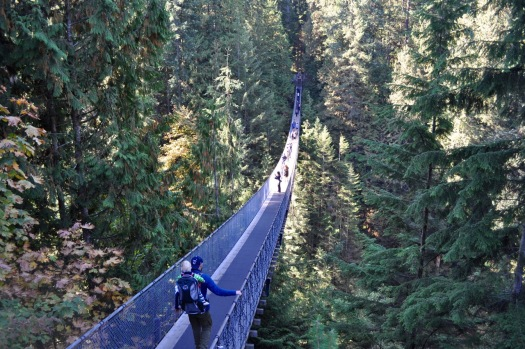 Nervenkitzel pur - Capilano Suspension Bridge in North Vancouver