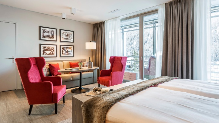 AMERON Swiss Mountain Hotel Davos_Suiten_SMART Family Suite (2)